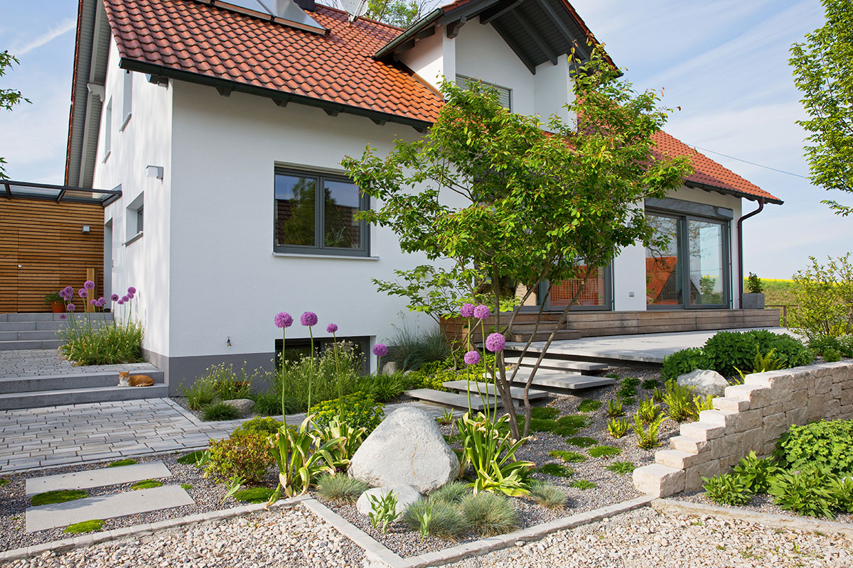 Moderne Gartengestaltung Exklusiver